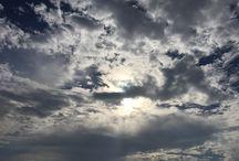 Mis cielos. My skies / Fotos del cielo en distintas zonas y momentos del día.