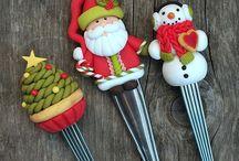 cucharas navidad