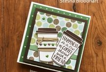 Stampin Up Coffee Cafe