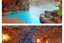 Wonderful Water Features / Dreamy waterfalls, swimming pools, ponds, etc...