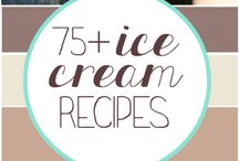Ice cream recipes