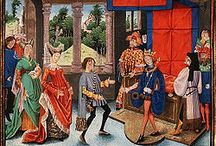 Herstal (de) Pépin II (645 +714) Maire du palais d'Austrasie (675) puis de tous les Francs (690) / Pépin II de Herstal, dit d'Héristal, Pépin le Gros ou Pépin le Jeune. Né vers 645, mort le 16 décembre 714 à Jupille (Meuse). Maire du Palais d'Austrasie (675) puis de tous les Francs (690). Fils d'ANSEGISEL et de BEGGA D'ARDENNE, fille de Pépin 1° le Vieux. Conjoint: PLECTRUDE (enfants DROGON et GRIMOALD II), ALPAÏDE (enfants CHARLES MARTEL et CHILDEBRAND).