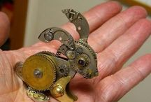 Steampunky goodness! / Cool steam punk stuff / by Linda Perkins