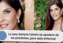 La sexy Adriana Cataño se apodera de los portafolios ¡pero está enferma!