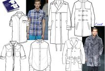 Technical Drawing: Menswear