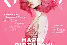 Pretty in Pink - Harper's Bazaar