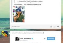Tom Hiddleston everybody