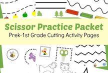 Scissor Practice - Cutting Practice Pages