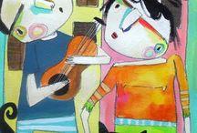 Art:  Whimsical Characters