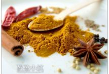 Curry powder mixes