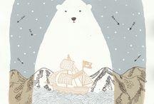 Illustration / by Harriet Stigner