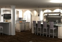 Traditional Large Kitchen Remodel / Upcoming project in Cherry Hill, NJ featuring Medallion Cabinetry.