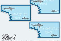 Shark bday