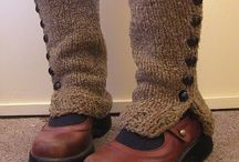 Knitted Spatwarmers
