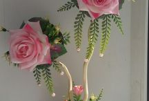 composizione fiori in vaso