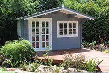 ABRI et RANGEMENT / Vous trouverez ici une sélection de produits pour agrémenter votre jardin ou habitation. / by Mon Aménagement Jardin