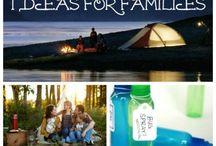 Camping and hiking ideas / by Linda Stockley