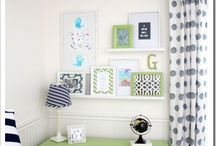 Frame it / Gallery Walls to Inspire.  / by Jenn @ Peas and Crayons