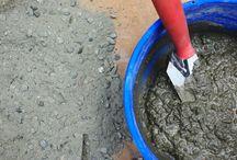 Concrete pouring