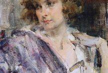 Nicolai Fechin / Portrait painter (1881-1955) http://www.fechin.com/