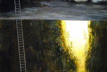 landscape art / how to paint a landscape