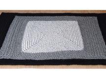 Alfombras de trapillo / Alfombras de trapillo fabricadas por encargo. Redondas, cuadradas, rectangulares... ¡Muchas combinaciones de diseños!