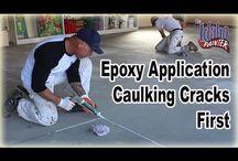 Garage Floor Epoxy Instructions / by The Idaho Painter