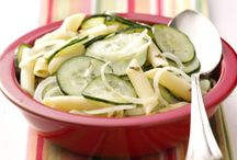 Summer Salads / Find salads perfect for summer gatherings, including pasta salads, potato salads, coleslaw, cucumber salads and more.