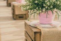 Idéias de decoração com caixote