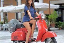 Vespa & Ladies - always a great match..