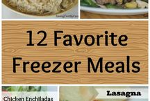 Make ahead meals / Freezer friendly and quick and easy meals / by Sheila Coyle