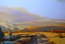 Landscape Paintings by Artist Joan Fullerton / Landscape Paintings by Artist Joan Fullerton