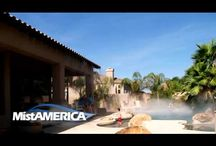 Residential Outdoor Comfort Solutions / Share and enjoy more quality time together with your family and friends. MistAmerica Engineered Outdoor Comfort Solutions bring indoor comfort to the outdoors, so you can entertain, play, and lounge all year 'round.
