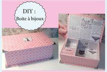 Boite Make up et bijoux