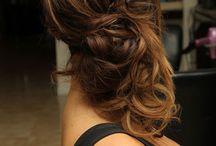 hair- updo's / by Jenna Arko
