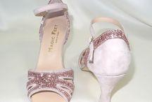 Chaussure de mariée / Chaussures de mariage personnalisables. Confortables, choix du talon, des couleurs, des semelles.
