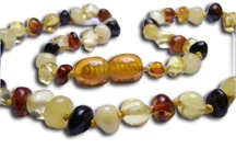 Amber Teething Necklaces For Babies