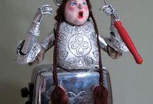 NIADA artist Scott Gray / Doll Art