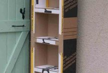 mueble carton
