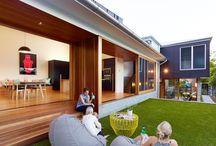 家 / house living room  リビング 居間 玄関 台所 kitchen トイレ rest room 土間 Doma home idea