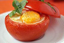 Oeuf cocotte en tomate - Recettes de cuisine