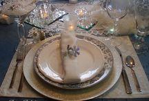 Table Settings ~Inspiration / by Joyce Martin