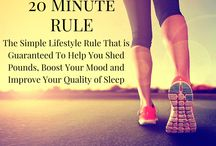 Methylation and Exercise / The 20 Minute Rule: The Lifestyle Rule that is Guaranteed to Help You Shed Pounds, Boost Your Mood and Improve Your Sleep.