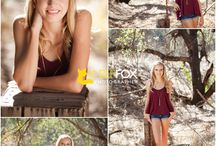 Amber's Stylish Seniors / Get inspired and see what Amber Fox's real clients have worn for their pictures to get you started on what you can wear to your senior session.