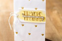 Banner Blessings Card Ideas / by Laurie Graham: Avon Rep/Stampin' Up! Demo