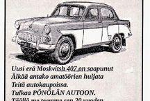 Vintage autot