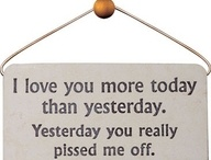 Stuff to email my husband when I am off with him