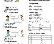 english worksheet