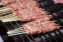 """Campo di Giove, Abruzzo... and its peaceful mountains with great food - """"Arrosticini"""""""