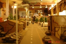 Model Railroad Army Base / by Model Trains